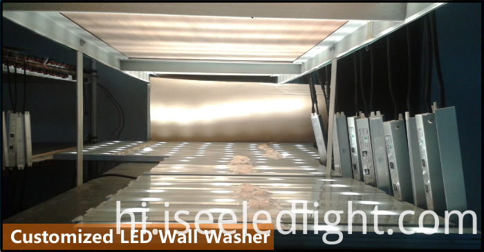 led wall washer light for ourdoor project