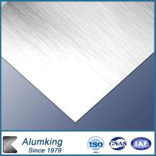 Placa de alumínio 5052/5005 para cortina de parede