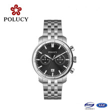 Metal Watch Stainless Steel Case Watch for Men and Women