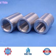 Acoplador de varilla de acero, acopladores de empalme de barras de Yida Rebar Mechnical