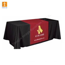 Mostrar a toalha de mesa de impressão de tecido de banner