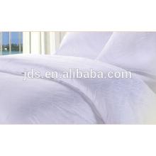 Tejido de la tela del satén de la raya del hogar y beddings del hotel tela 100% del algodón