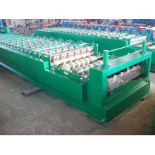 Corrugated Double Layer Roll Forming Machine / Roofing Sheet Making Machine