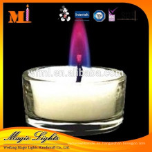Nuevo Estilo China Professional Produce Splendid Elegant Purple Flame Candles
