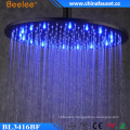 16′′ Water Saving No Battery Hydro Power LED Shower Head