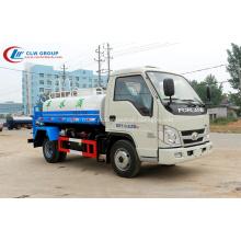 2019 Foton forland 2000l pequeno caminhão de água