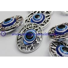 Oval evil eye charm  evil eye beads pendant accessories