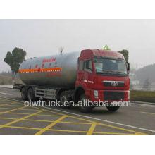 Jiefang 8 * 4 lpg Gaskastenwagen, 35.5m3 Größter LPG Transport LKW