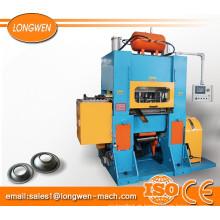 Máquina perfuradora de garganta profunda de cone de estanho para aerossol