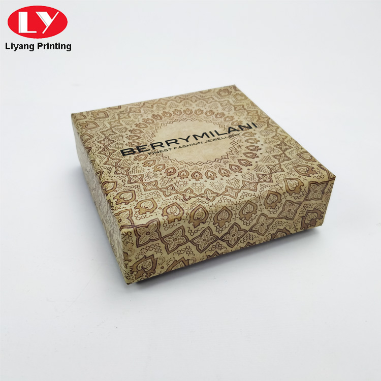 Jewelry Paper Box Logo