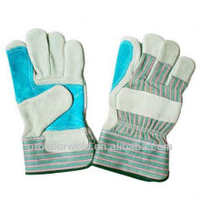 Cow Leather Working Gloves with CE