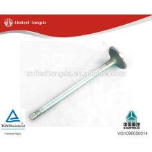 VG1096050014 válvula de admissão de alta qualidade sinotruk motor VG615
