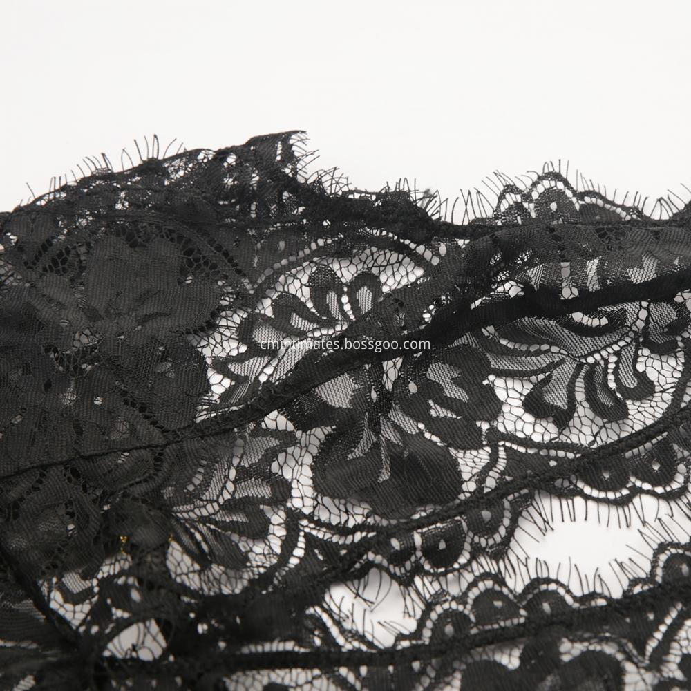 Franch Lace Black No Padded Cup
