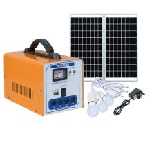 Подвижная солнечная зарядная система освещения