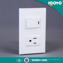 American Standard 1 Gang Switch + Receptacle