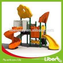 Nouvelle conception Équipement de jeux en plein air à l'extérieur des aires de jeux pour enfants