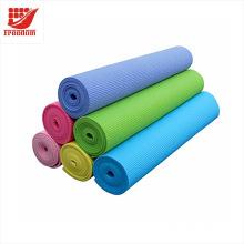 Logo personnalisé imprimé 4MM-10MM antidérapant Gym Fitness Pilates tapis de yoga tapis d'exercice