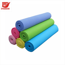 Custom Logo Printed 4MM-10MM Non-slip Gym Fitness Pilates Yoga Mat Exercise Pad