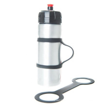 silicone sports water bottle carrier holder for runners