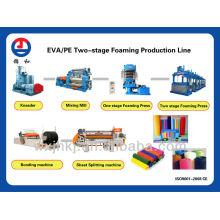 Eva deux stade ligne de production de mousse feuille