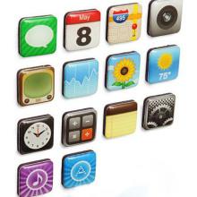 Etiquetas engomadas populares del teléfono móvil de Seeling Popular 3D