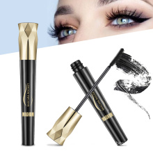 Hot Style  Long Lasting Mascara Thick and Curl Warped Quick Dry Quality Waterproof 4D Fiber Eyelash Mascara