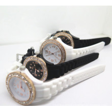 New Style Couple Silicone Wrist Watch