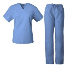 Uniformes unisex hospital doctor