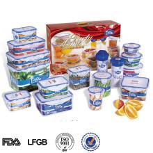 воздухонепроницаемый набор пластичной заедк, еды контейнер набор 16шт