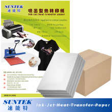Inkjet Dark Color Heat Press Transfer Paper for T-Shirt (STC-T03)