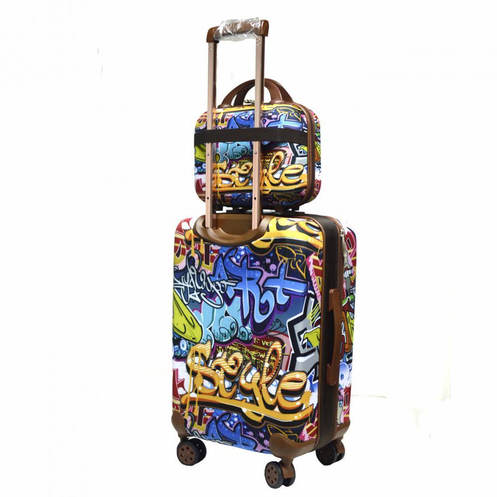 EVA Trolley Luggage Set with Fashion Printing