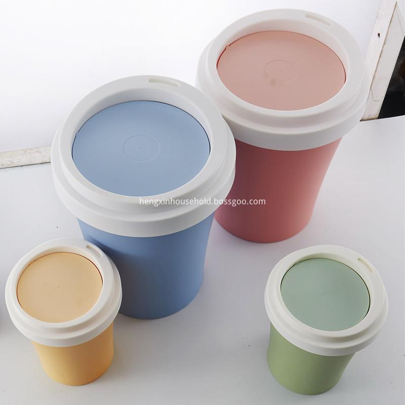 wholesale plastic trash cans