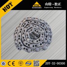 Piezas de equipos de construcción PC200-8 track link assy 20Y-32-00300