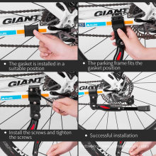 Rockbros High-Quality Bicycle Bracket Road Bike Parking Rack Mountain Bike Frame Adjustable Side Kick Foot Pedal