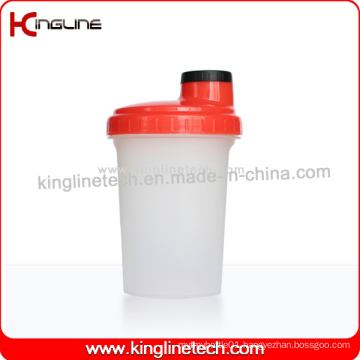 BPA Free, 500ml Plastic Protein Shaker Bottle with Filter (KL-7012D)