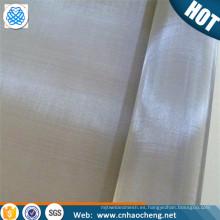 Pantalla de malla de filtro de aleación de metal hastelloy c276 resistente a la corrosión
