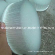 Cepillo de limpieza de alambre de nylon blanco de 200 mm (YY-428)