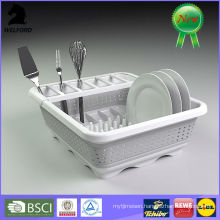 BSCI Audit Plastic Collapsible Dish Rack