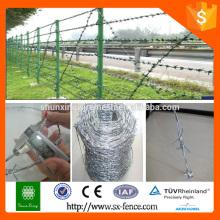 Poids du fil de fer barbelé par mètre de longueur