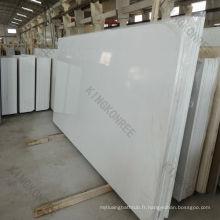 Carrelages artificiels reconstitués de plancher de pierre de quartz / dalles