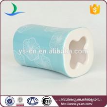 YSb40067-01-th azul barato cuarto de baño cepillo de dientes sanitario titular