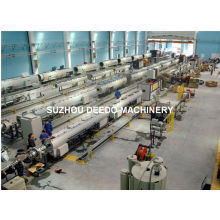 Automatic PP PE Pipe Production Line