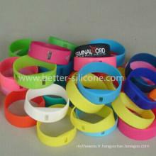 Elostomer LSR bracelet en silicone à cristaux liquides (LSR)