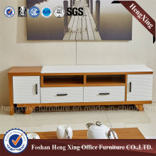 Melamine Living Room 1.6m White Color TV Stand (HX-6M373)