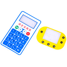 ПЭТ пленка для мембранного переключателя с тиснеными кнопками
