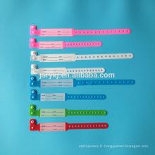 Bracelets d'identification médicaux jetables pour adultes et enfants
