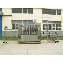 Glass , Plastic Bottle Filling Equipment / Machine With 18 Filling Head , 3000bph