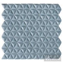 Azulejos de vidrio triangulares