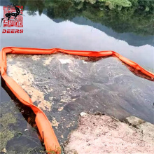 Eco friendly floating pvc sludge collection boom oil spill