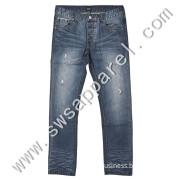 Wholesale Man Stock Fashion Denim Jeans